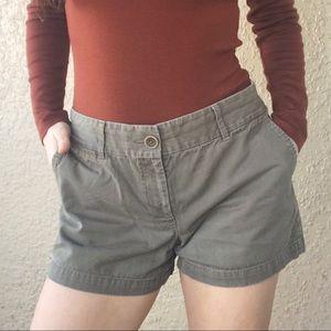 3/$20🌸 Ann Taylor LOFT Shorts Riviera Green 6